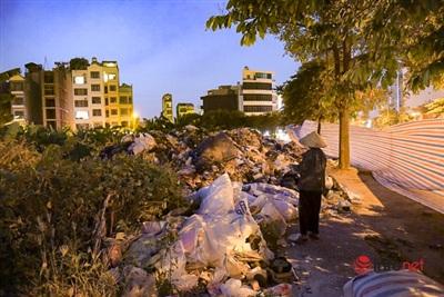 Nếu việcngười dân chặn bãi rác Nam Sơn không được giải quyết sớm thì trong những ngày tới lượng rác sẽ tăng lên khủng khiếp.