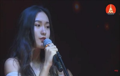 Không chỉ xinh đẹp, Hải My còn sớm bộc lộ nhiều năng khiếu như hát, chơi đàn piano và đạt danh hiệu học sinh giỏi suốt 12 năm liền. Khi còn học cấp 3, cô tham dự cuộc thi Marie Curie's Got Talent 2017 với tài năng hát Tiếng Anh.