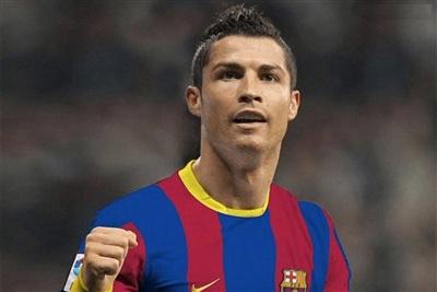 Cristiano Ronaldomuốn khoác áo Barca