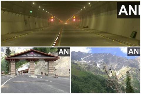 Đường hầm xuyên núi của Ấn Độ.