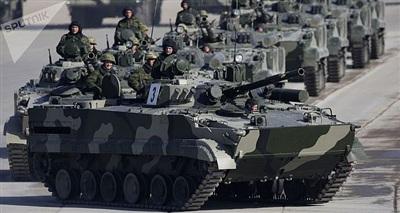 Xe chiến đấu BMP-3F. (Nguồn: Sputnik)