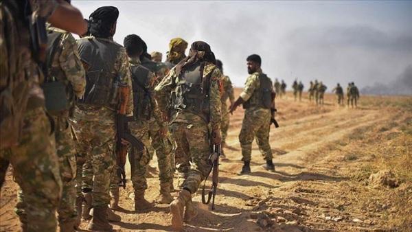 Phiến quân Quân đội Quốc gia Syria (SNA) đóng vai trò bộ binh xung kích cho Thổ Nhĩ Kỳ trong Chiến dịch 'Mùa xuân Hòa bình' năm 2019.