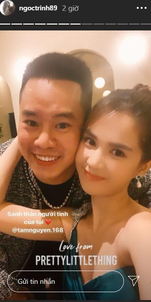 Ngọc Trinh công khai gọi Tâm Nguyễn là 'người tình của tôi'.