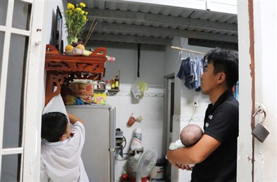 Hi vọng có thêm sự hỗ trợ, giúp đỡ cho anh Luân để anh có điều kiện nuôi nấng các bé nên người...