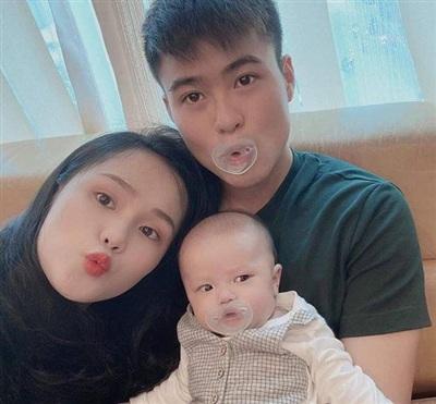 Gia đình nhỏ của Duy Mạnh - Quỳnh Anh