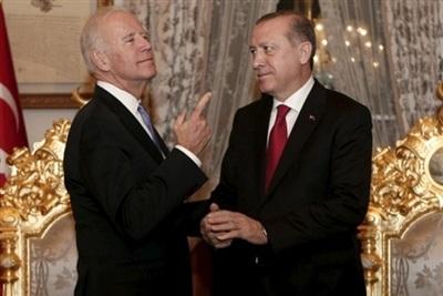 Nếu giành chiến thắng, ông Biden sẽ không 'nương tay' với Thổ Nhĩ Kỳ. (Ảnh: Reuters)