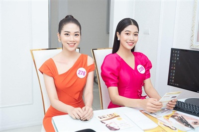 Cả hai đều được đánh giá là những ứng viên tiềm năng cho ngôi vị Hoa hậu Việt Nam 2020.