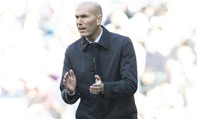 Zidane đã quen với những áp lực lớn khi nắm Real Madrid