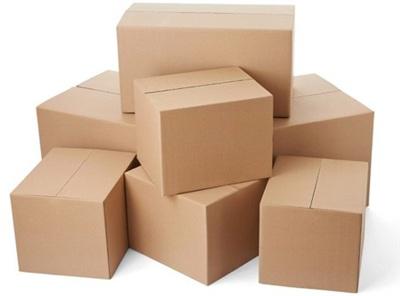 Bài toán yêu cầu tính tổng cân nặng của các hộp bìa.