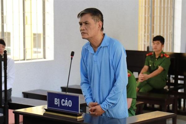 Bị cáo Đặng Ngọc Thủy tại phiên tòa phúc thẩm