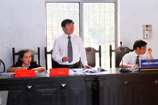 Luật sư Dương Lê Sơn cho biết sẽ kháng cáo bản án phúc thẩm, tăng nặng hình phạt