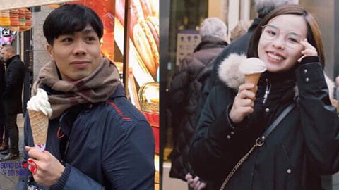 Không chỉ giỏi giang, Viên Minh – cô gái được Công Phượng chọn lựa cũng có ngoại hình xinh xắn, dễ nhìn.