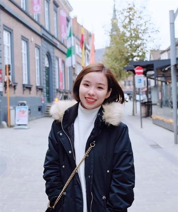 Viên Minh, cô gái đã chinh phục trái tim Công Phượng. Ảnh: Vietnamnet