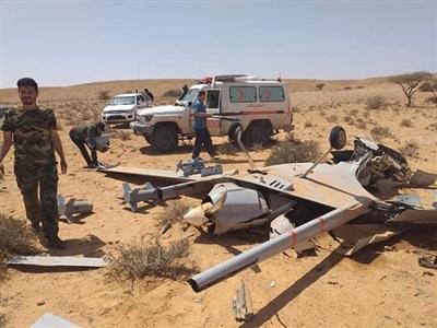 UAV do Thổ Nhĩ Kỳ chế tạo bị tổ hợp pháo - tên lửa phòng không Pantsir-S1 tiêu diệt ở Libya..
