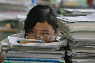 Các học sinh yếu kém được nhà trường yêu cầu không đi thi THPT công lập - Ảnh minh họa.