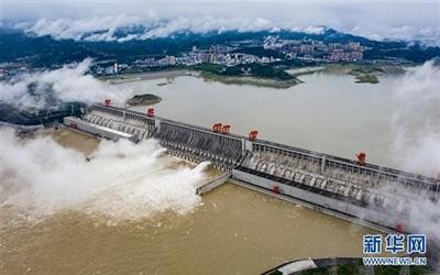 Chuyên gia bác bỏ khả năng vỡ đập và khẳng định đập Tam Hiệp có thể chứa được lượng nước rất lớn. Ảnh: Tân Hoa Xã