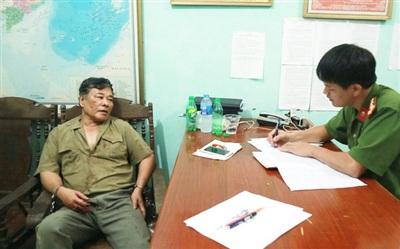 Đối tượng Bùi Xuân Hồng (kẻ thảm sát cả nhà em gái) ở Thái Nguyên sắp hầu tòa. Ảnh: TL