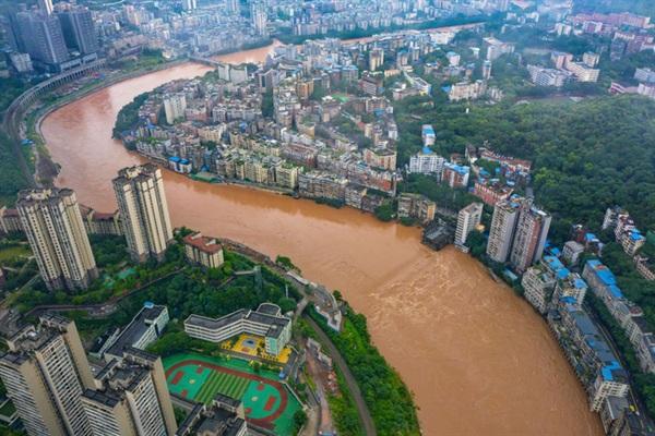 Ảnh chụp huyện Kỳ Giang, thành phố Trùng Khánh, Trung Quốc vào ngày 01/07.