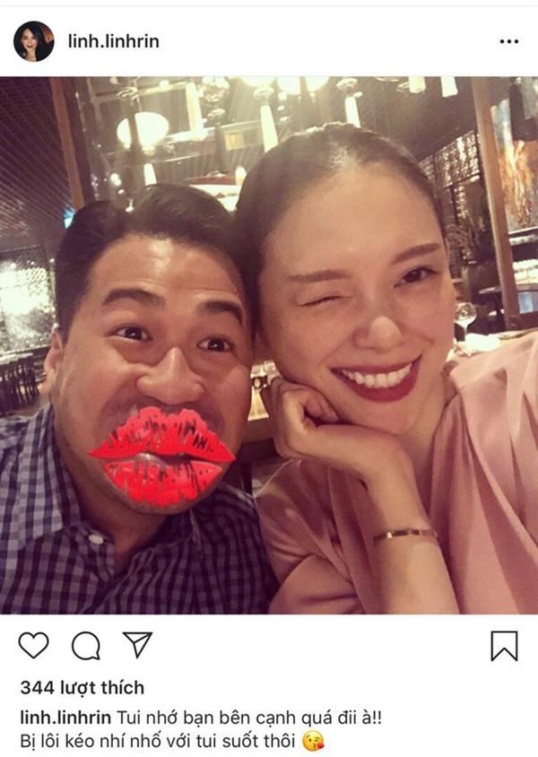 Bài đăng đáng yêu của Linh Rin dành cho bạn trai Phillip Nguyễn