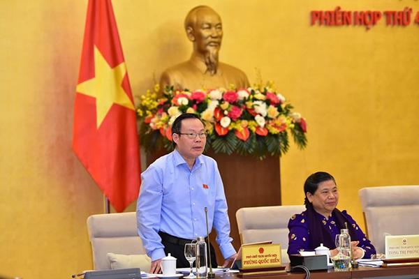 Phó Chủ tịch Quốc hội Phùng Quốc Hiển