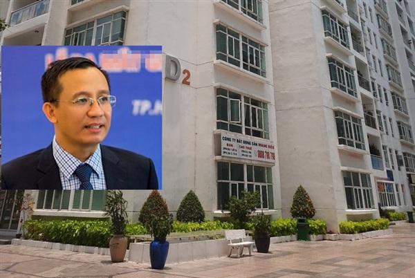 Tiến sĩ Bùi Quang Tín và chung cư nơi xảy ra vụ việc