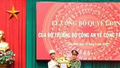 Bổ nhiệm Thượng tá Nguyễn Quốc Vương giữ chức Phó Giám đốc Công an tỉnh Thái Bình