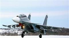 'Hổ mang chúa' Su-30 rơi tại Nga, nghi bị đồng đội bắn nhầm