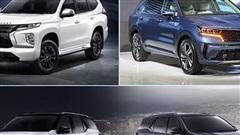 'Điểm mặt' những mẫu SUV 7 chỗ ra mắt trong tháng 9