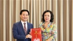 Tân Chánh Văn phòng Thành ủy Hà Nội vừa được bổ nhiệm là ai?