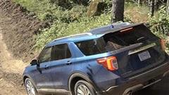 Lộ diện Ford Explorer dành cho dân mê off-road