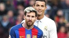 Ronaldo vượt qua Messi ở cuộc khảo sát toàn cầu