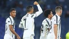 Ronaldo lập cú đúp giúp Juventus thoát thua trong thế 10 người
