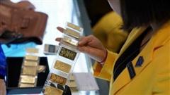 Giá vàng tăng vọt lên 55,7 triệu đồng/lượng