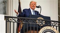 Tổng thống Mỹ nói gì trong lần đầu phát biểu trước công chúng kể từ khi bị nhiễm COVID-19?