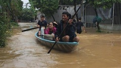 Lũ trên các sông ở Quảng Nam đạt đỉnh trong hôm nay