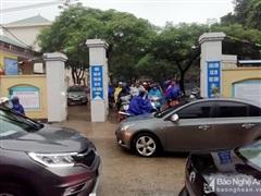 Nghệ An: Mưa lớn, nhiều trường cho học sinh nghỉ học vào ngày 19/10
