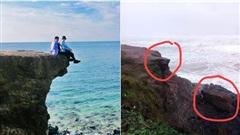 Gãy mỏm đá 'sống ảo' ở Quảng Trị, dân mạng tiếc nuối vị trí check in 'huyền thoại'