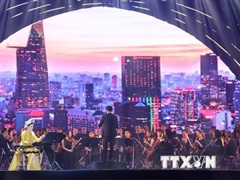 Chương trình nghệ thuật chào mừng thành công Đại hội Đảng bộ TP.HCM