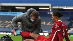 Mất Van Dijk là thảm họa với Liverpool
