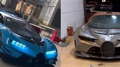 4 tháng làm Bugatti Vision Gran Turismo 'nhái' thủ công vô cùng thuyết phục