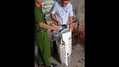 C03 triệt phá hai cơ sở dùng đất và bột đá để sản xuất phân bón