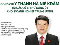 [Infographics] Bí thư Đảng ủy Khối Doanh nghiệp TW Y Thanh Hà Niê Kđăm