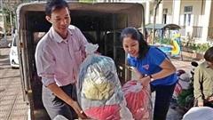 Nhân dân Hà Nội 'tiếp sức' cho miền Trung thân yêu
