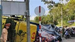 Xe tải không người lái nghiền nát hàng loạt xe máy ở Đà Lạt