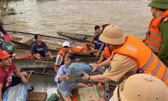 Cục CSGT lập Trung tâm chỉ huy sẵn sàng giúp dân ứng phó bão số 9