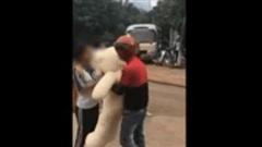 Video: Ôm gấu 'khủng' đi tỏ tình, thanh niên bị cô gái từ chối, ghét ra mặt vì lý do này