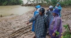 Thủy điện Plei Kần vẫn tích nước giữa tâm bão số 9