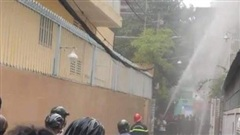 Người phụ nữ tử vong trong căn nhà cháy ở Sài Gòn, nghi bị sát hại