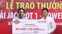Vietlott trao Jackpot gần 60 tỷ đồng cho người chơi tại Vĩnh Long