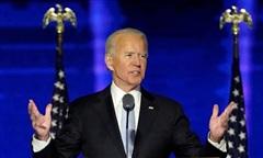 Phát biểu sau chiến thắng, Joe Biden kêu gọi 'đoàn kết và hàn gắn quốc gia'